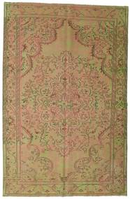 Colored Vintage Rug 183X284 Authentic  Modern Handknotted Light Brown/Light Green (Wool, Turkey)
