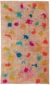 Colored Vintage Rug 170X286 Authentic  Modern Handknotted Light Brown/Dark Red (Wool, Turkey)