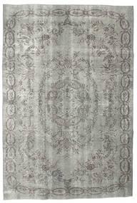 Colored Vintage Rug 187X275 Authentic  Modern Handknotted Light Grey/Dark Grey (Wool, Turkey)