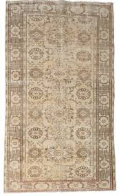 Colored Vintage Rug 155X267 Authentic  Modern Handknotted Light Grey/Beige (Wool, Turkey)