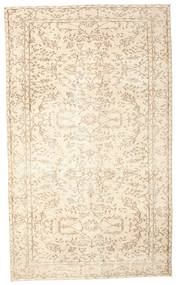 Colored Vintage Rug 161X273 Authentic  Modern Handknotted Beige/Light Pink (Wool, Turkey)