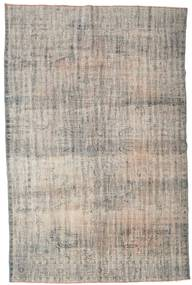 Colored Vintage Rug 194X297 Authentic  Modern Handknotted Light Grey (Wool, Turkey)