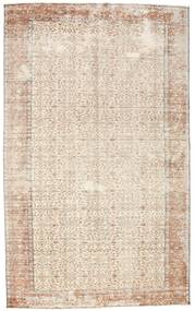 Colored Vintage Rug 183X294 Authentic  Modern Handknotted Beige/Light Grey (Wool, Turkey)