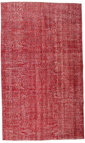 Colored Vintage Rug 165X279 Authentic  Modern Handknotted Crimson Red/Rust Red (Wool, Turkey)
