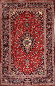 Keshan Rug 197X307 Authentic  Oriental Handknotted Dark Red/Dark Brown (Wool, Persia/Iran)