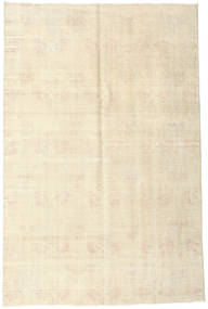 Colored Vintage Rug 168X258 Authentic  Modern Handknotted Beige (Wool, Turkey)