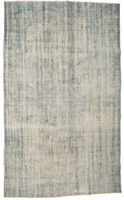 Colored Vintage Rug 177X295 Authentic  Modern Handknotted Light Grey/Dark Grey (Wool, Turkey)