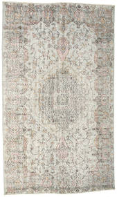 Colored Vintage Rug 175X300 Authentic  Modern Handknotted Light Grey/Dark Beige (Wool, Turkey)