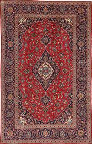 Keshan Rug 195X307 Authentic  Oriental Handknotted Dark Red/Dark Brown (Wool, Persia/Iran)