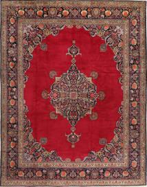 Keshan Rug 315X410 Authentic  Oriental Handknotted Crimson Red/Dark Red Large (Wool, Persia/Iran)