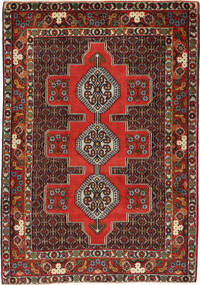 Senneh Rug 120X170 Authentic  Oriental Handknotted (Wool, Persia/Iran)