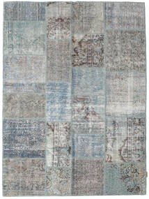 Patchwork Rug 171X230 Authentic Modern Handknotted Light Grey/Turquoise Blue/Light Green (Wool, Turkey)