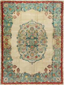 Tabriz Patina Rug 300X400 Authentic Oriental Handknotted Dark Beige/Pastel Green Large (Wool, Persia/Iran)