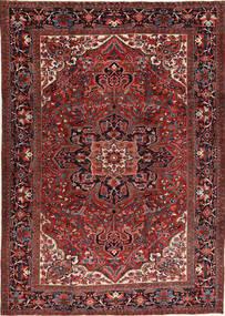 Heriz Rug 266X372 Authentic  Oriental Handknotted Dark Red/Black Large (Wool, Persia/Iran)