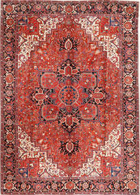Heriz Rug 293X406 Authentic  Oriental Handknotted Dark Red/Rust Red Large (Wool, Persia/Iran)