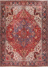 Heriz Rug 298X414 Authentic  Oriental Handknotted Dark Red/Brown Large (Wool, Persia/Iran)