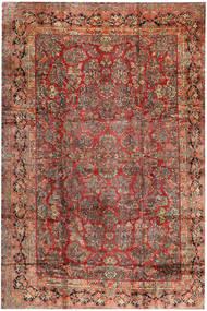 Sarouk Rug 368X543 Authentic  Oriental Handknotted Dark Red/Dark Brown Large (Wool, Persia/Iran)