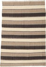 Kilim Rug 165X242 Authentic  Oriental Handwoven Beige/Light Brown/Dark Brown (Wool, Persia/Iran)