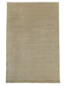 Handloom Fringes - Greige Rug 160X230 Modern Light Grey (Wool, India)