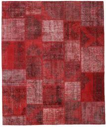Patchwork Rug 250X302 Authentic  Modern Handknotted Dark Red/Crimson Red Large (Wool, Turkey)