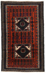 Baluch Rug 103X172 Authentic  Oriental Handknotted (Wool, Afghanistan)