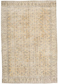 Colored Vintage Rug 210X309 Authentic  Modern Handknotted Light Grey/Beige (Wool, Turkey)