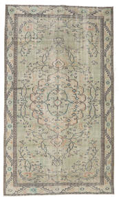 Colored Vintage Rug 154X263 Authentic  Modern Handknotted Light Grey/White/Creme (Wool, Turkey)