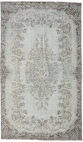 Colored Vintage Rug 173X296 Authentic  Modern Handknotted Light Grey/Dark Grey (Wool, Turkey)