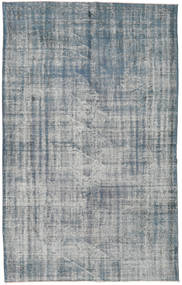 Colored Vintage Rug 181X294 Authentic  Modern Handknotted Light Grey/Blue (Wool, Turkey)