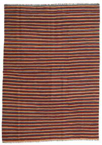Kilim Rug 172X240 Authentic  Oriental Handwoven Dark Red/Blue (Wool, Persia/Iran)