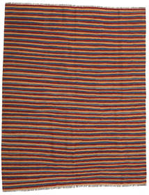Kilim Rug 178X244 Authentic  Oriental Handwoven Dark Red/Light Brown (Wool, Persia/Iran)