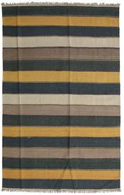 Kilim Rug 168X265 Authentic  Oriental Handwoven Dark Grey/Light Brown (Wool, Persia/Iran)