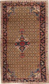 Koliai Patina Rug 100X183 Authentic Oriental Handknotted Dark Brown/Light Brown (Wool, Persia/Iran)