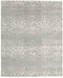 Himalaya Rug 245X304 Authentic Modern Handknotted Light Grey (Wool/Bamboo Silk, India)