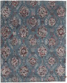 Himalaya Bamboo Silk Rug 247X306 Authentic  Modern Handknotted Dark Grey/Blue ( India)