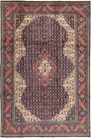 Sarouk Rug 200X305 Authentic  Oriental Handknotted Dark Grey/Dark Red (Wool, Persia/Iran)