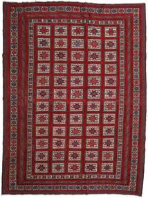 Kilim Golbarjasta Rug 201X272 Authentic  Oriental Handwoven Dark Red/Dark Brown (Wool, Afghanistan)