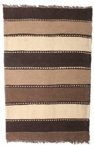 Kilim Rug 80X123 Authentic  Oriental Handwoven Brown/Dark Brown/Beige (Wool, Persia/Iran)