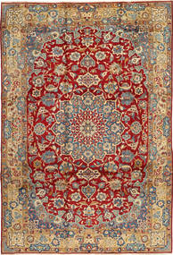 Najafabad Rug 247X375 Authentic  Oriental Handknotted Dark Red/Light Brown (Wool, Persia/Iran)