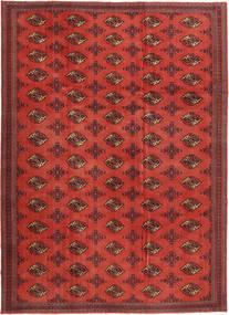 Turkaman Patina Rug 240X337 Authentic  Oriental Handknotted Dark Red/Rust Red (Wool, Persia/Iran)