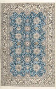 Nain 6La Habibian Rug 210X323 Authentic  Oriental Handknotted Light Grey/Dark Beige (Wool/Silk, Persia/Iran)
