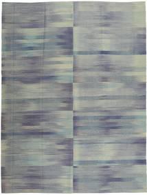 Kilim Modern Rug 213X278 Authentic  Modern Handknotted Dark Grey/Light Grey (Wool, Afghanistan)