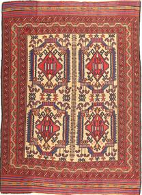 Kilim Golbarjasta Rug 161X266 Authentic  Oriental Handwoven Dark Brown/Dark Red (Wool, Afghanistan)