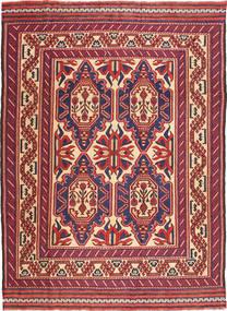 Kilim Golbarjasta Rug 200X277 Authentic  Oriental Handwoven Dark Red/Dark Purple (Wool, Afghanistan)