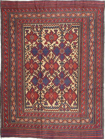 Kilim Golbarjasta Rug 200X274 Authentic  Oriental Handwoven Dark Purple/Dark Red (Wool, Afghanistan)
