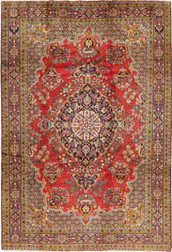 Golpayegan Rug 218X318 Authentic  Oriental Handknotted Dark Brown/Light Brown (Wool, Persia/Iran)