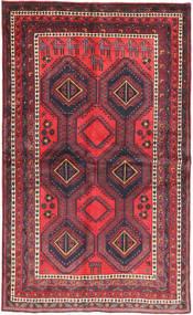 Afshar Rug 138X233 Authentic  Oriental Handknotted Dark Purple/Dark Brown (Wool, Persia/Iran)