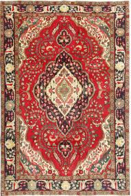 Tabriz Rug 200X298 Authentic  Oriental Handknotted Dark Red/Dark Brown (Wool, Persia/Iran)