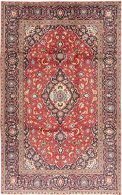 Keshan Rug 188X301 Authentic  Oriental Handknotted Dark Red/Rust Red (Wool, Persia/Iran)