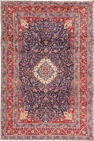 Hamadan Shahrbaf Rug 205X316 Authentic  Oriental Handknotted Dark Grey/Rust Red (Wool, Persia/Iran)